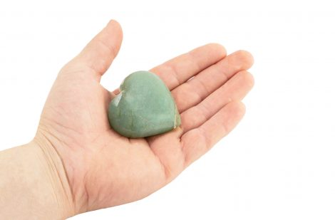 Aventurine Puffy Heart - Crystal Dreams