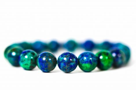 Azurite Bracelet ( 10 mm or 8 mm) 1