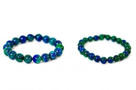 Azurite Bracelet ( 10 mm or 8 mm) 2