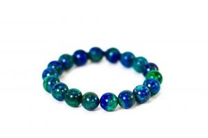 Azurite Bracelet ( 10 mm or 8 mm)