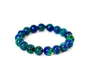 Azurite Bracelet ( 10 mm or 8 mm)