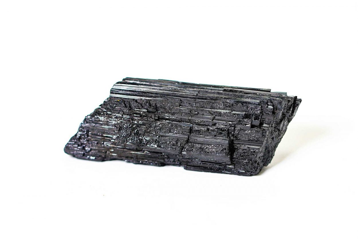 Black Tourmaline Rough 1