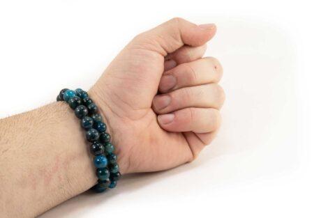 Bracelet d'Apatite (10 mm ou 8 mm)