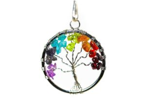 Chakra Tree of Life Pendant 1