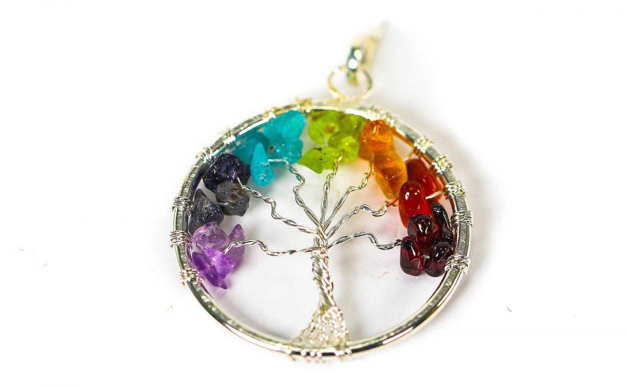 Chakra Tree of Life Pendant 3