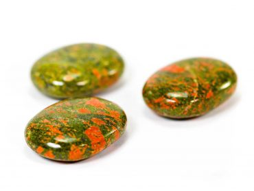 Unakite Palm Stone -Crystals -Palm -Stones -Crystal Dreams