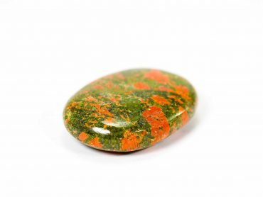 Unakite Palm Stone - Crystals -Palm -Stones -Crystal Dreams