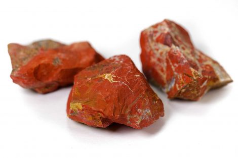 Rough Red Jasper- Crystal Dreams