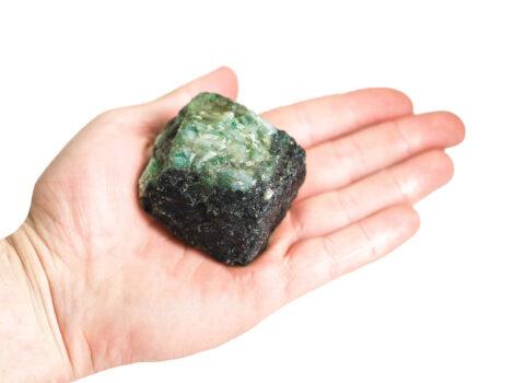 Emerald Rough - Crystal Dreams