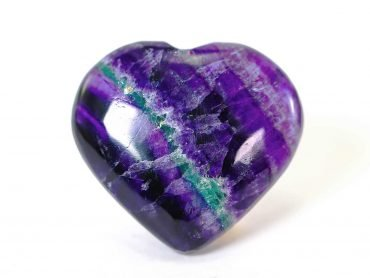 Fluorite Heart Crystal Dreams