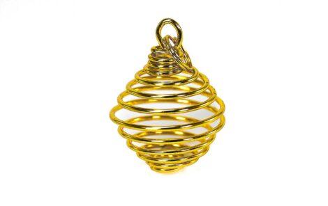 Golden Cage Pendant - Crystal Dreams