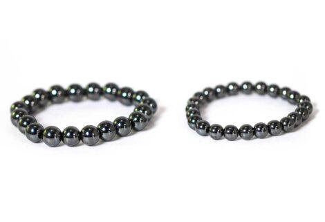 Hematite Bracelet ( 10 mm or 8 mm) 1