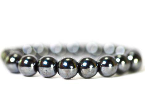 Hematite Bracelet ( 10 mm or 8 mm) 3