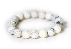 Howlite Bracelet ( 10 mm or 8 mm)