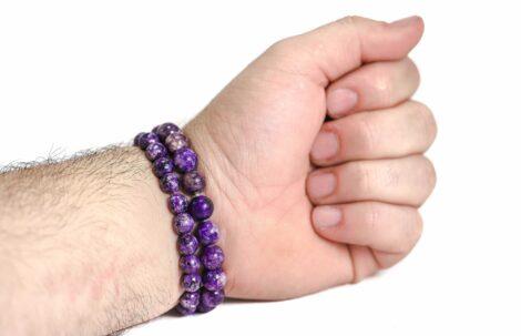 Howlite Bracelet ( 10 mm or 8 mm) (Copy) 2