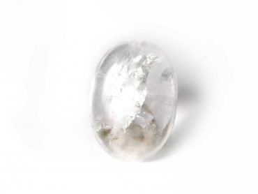 Clear Quartz Palm Stone -Crystals - Crystal Dreams