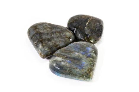 Labradorite Puffy Heart - Crystal Dreams