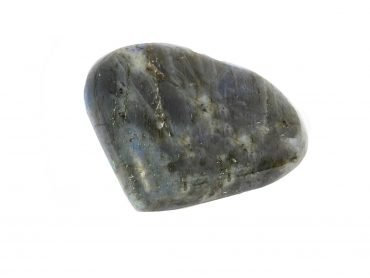 Labradorite Puffy Heart - Crystal Dreams