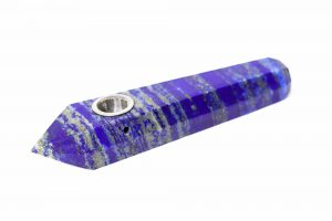Lapis Lazuli Crystal Pipe