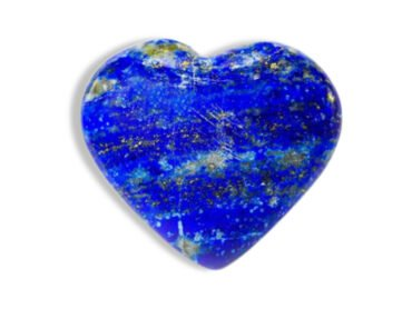 Lapis Lazuli Puffy Heart - Crystal Dreams