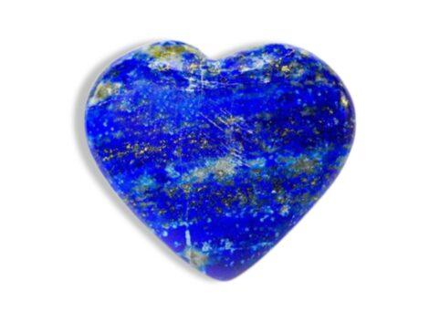 Lapis Lazuli Puffy Heart - Crystal Dreams