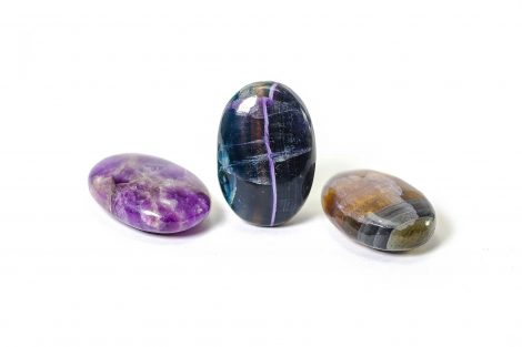 Fluorite Palm Stone -Crystals -Crystal Dreams