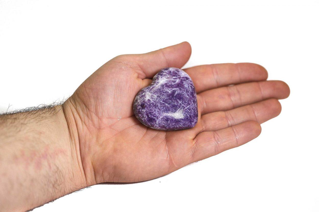 Obsidian Puffy Heart (Copy)