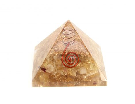 Orgone Pyramid - Citrine (L) - Crystal Dreams