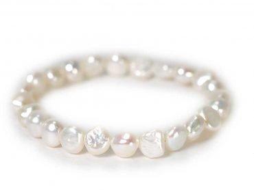 Pearl Bracelet ( 10 mm or 8 mm) 2