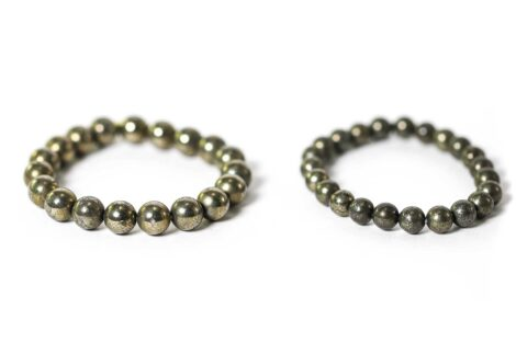Pyrite Bracelet ( 10 mm or 8 mm)
