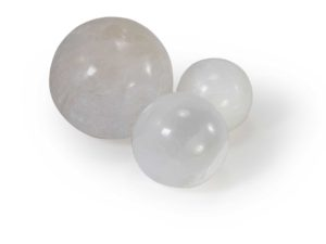 Selenite Crystal Spheres - 3 size 2