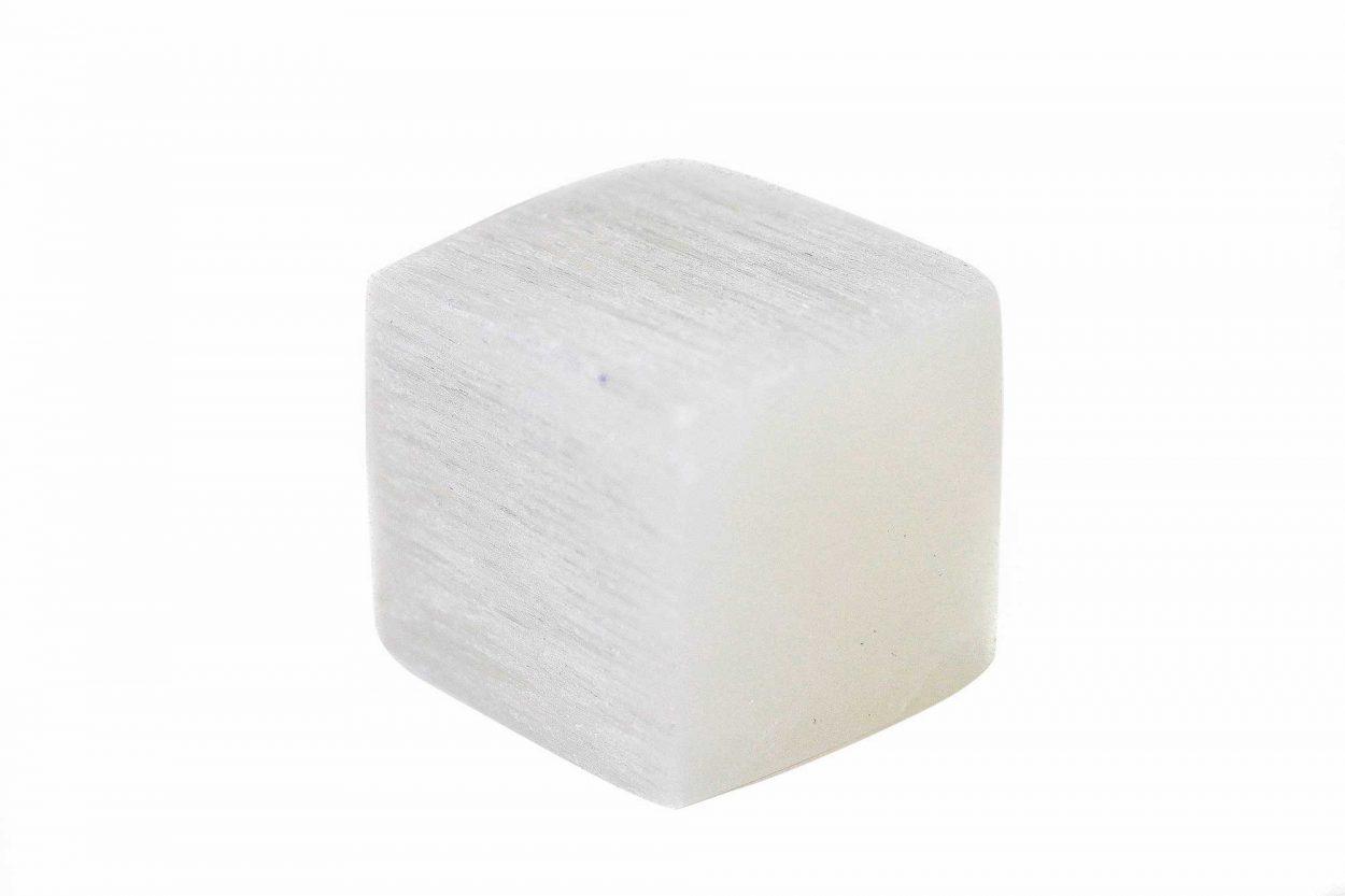 Selenite Cube 1