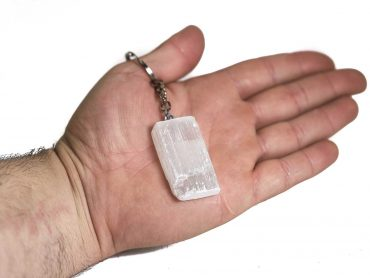 Selenite Keychain- Crystal- Crystal Dreams