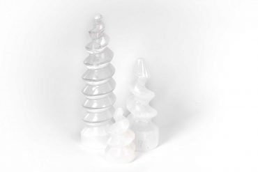 Selenite Spiral - 3 sizes 2