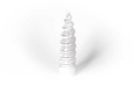 Selenite Spiral - 3 sizes 3