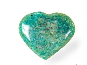 Small Amazonite Heart - Crystals -Crystal Dreams