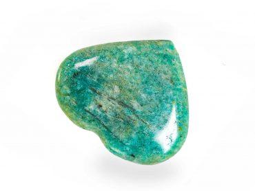 Small Amazonite Heart -Crystals -Crystal Dreams