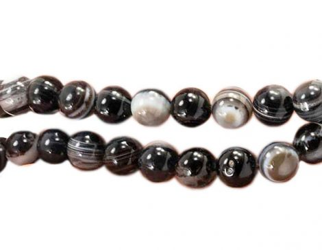 Agate Beads (8mm or 10mm) - Crystal Dreams