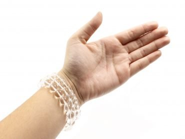 Clear Quartz Bracelet (10mm, 8mm, or 6mm) - Crystal Dreams