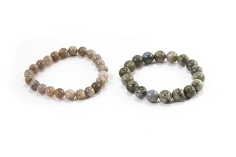 Labradorite Bracelet (10mm, 8mm or 6mm) - Crystal Dreams