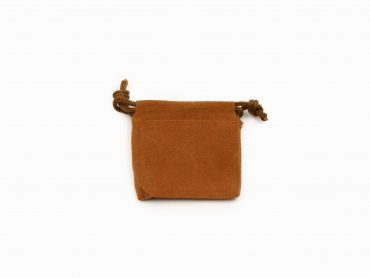 Brown Velvet Pouch ( S, M, L or XL)- Crystal Dreams