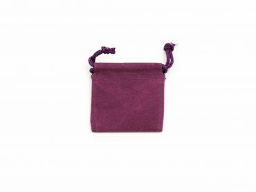 Purple Velvet Pouch ( S, M, L or XL)-Crystal Dreams