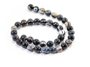 Agate Beads (10 mm or 8 mm)