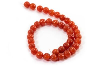 Carnelian Beads (8mm or 10mm) - Crystal Dreams