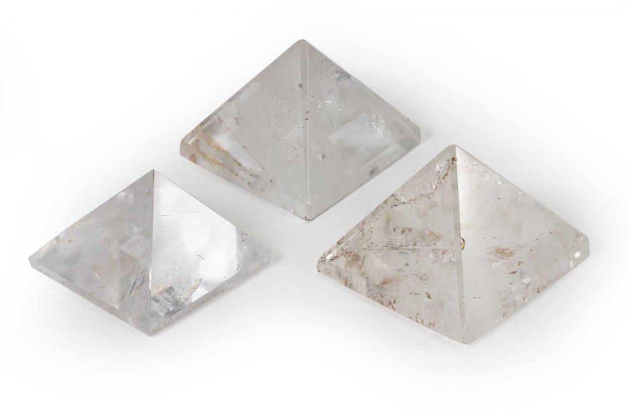 Clear Quartz Pyramid 2