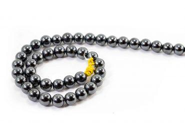 Hematite Beads (10 mm or 8 mm)