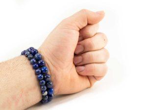 Lapis Lazuli Bracelet (10mm or 8mm) 1
