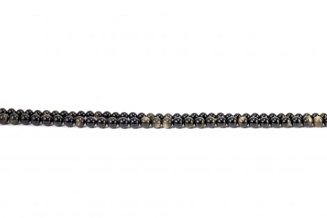 Obsidian Beads (10mm or 8mm)