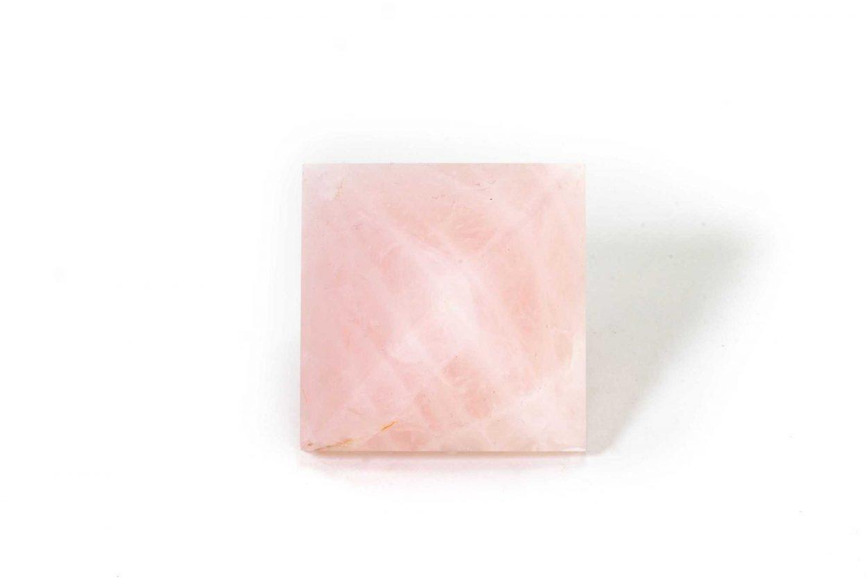 Rose Quartz Pyramid 1