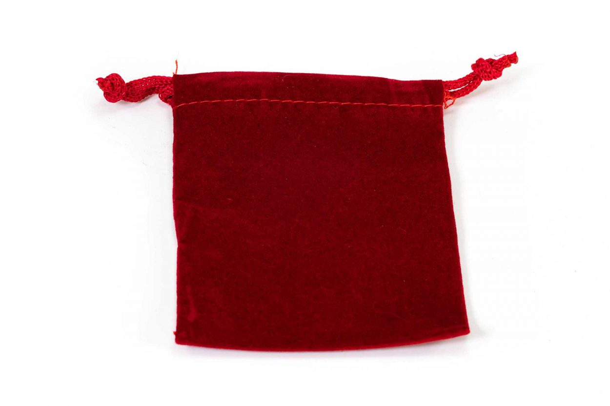 Small Velvet Pouch (Blue or Red)